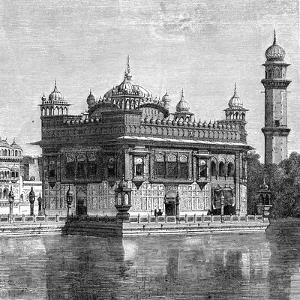 The Golden Temple and the Lake of Immortality at Amritsar, India, 1895