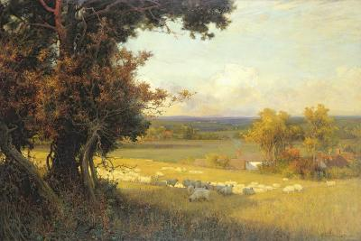 The Golden Valley-Sir Alfred East-Giclee Print