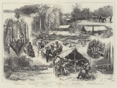 The Goldfields of British Guiana--Giclee Print