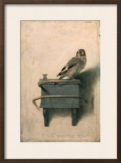 The Goldfinch, 1654-Carel Fabritius-Framed Giclee Print