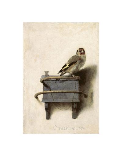 The Goldfinch, 1654-Carel Fabritius-Art Print