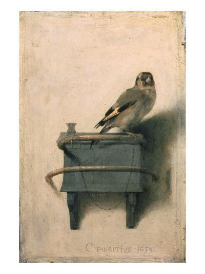 The Goldfinch, 1654-Carel Fabritius-Giclee Print