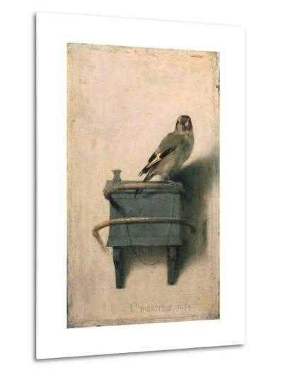The Goldfinch, 1654-Carel Fabritius-Metal Print