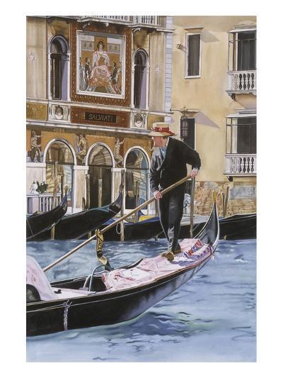 The Gondolier-Roberta Aviram-Art Print