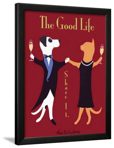 The Good Life-Ken Bailey-Framed Giclee Print
