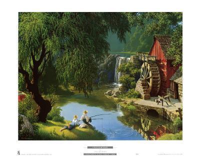The Good Old Days-Paul Detlefsen-Art Print