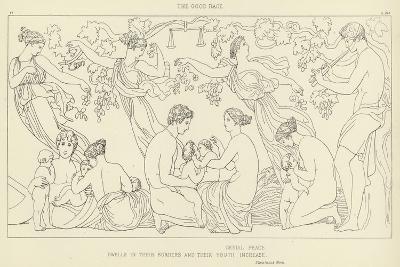 The Good Race-John Flaxman-Giclee Print