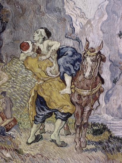 The Good Samaritan, 1890-Vincent van Gogh-Giclee Print