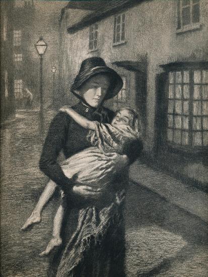 'The Good Samaritan', 1911, (1912)-Gunning King-Giclee Print