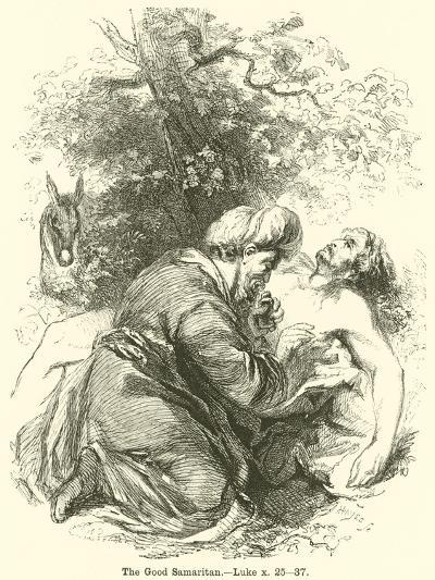 The Good Samaritan, Luke, X, 25, 37--Giclee Print