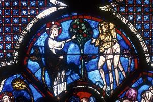 The Good Samaritan Window, Chartres Cathedral, France, 13th Century