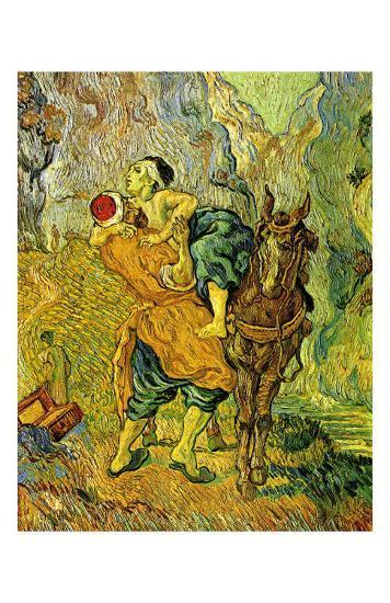 The Good Samaritan-Vincent van Gogh-Art Print