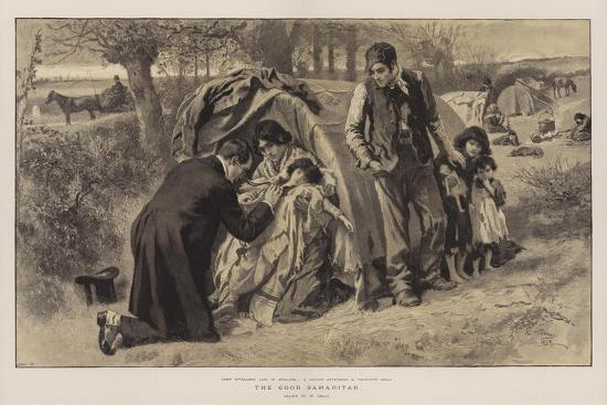 The Good Samaritan-William Small-Giclee Print