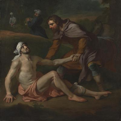 The Good Samaritan-Joseph Highmore-Giclee Print