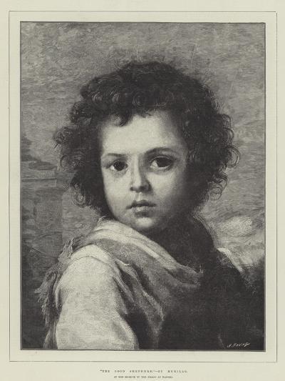The Good Shepherd, in the Museum of the Prado at Madrid-Bartolome Esteban Murillo-Giclee Print