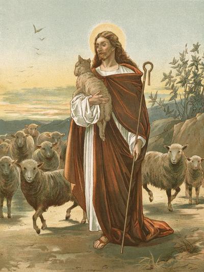 The Good Shepherd-John Lawson-Giclee Print