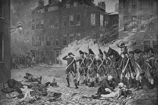 The Gordon Riots, London, 1780 (1905)-Unknown-Giclee Print