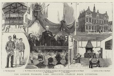 The Gordon Working Lads Institute, Stanley Road, Liverpool--Giclee Print