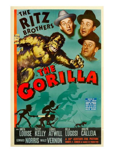 The Gorilla, the Ritz Brothers, 1939--Photo
