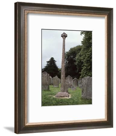 The Gosforth Cross, Cumbria, c900-Werner Forman-Framed Photographic Print