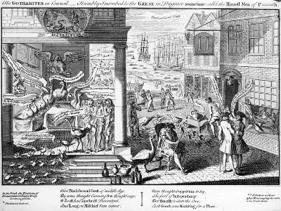 The Gothamites in Council, 1761--Giclee Print