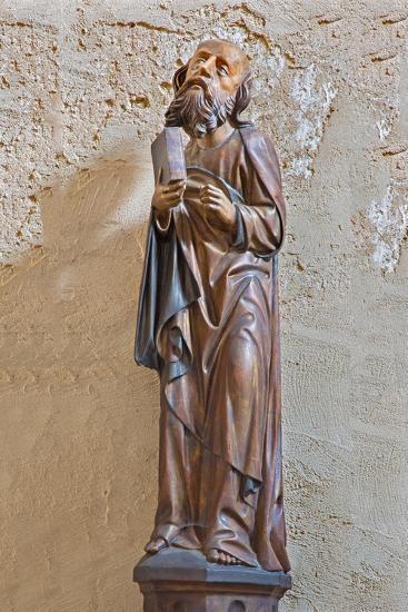 The Gothic Carved Satue of Apostle Matthew-Ren?ta Sedm?kov?-Photographic Print