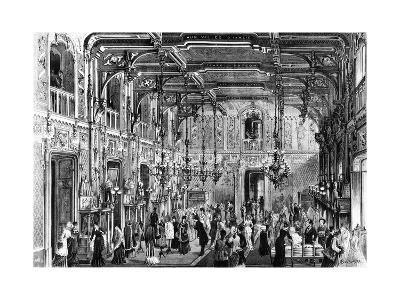 The Gothic Hall of the Bocconi Brothers' Department Stores in Milan, 1879, Italy--Giclee Print