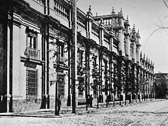 'The Government Palace, Santiago', 1911-Unknown-Photographic Print