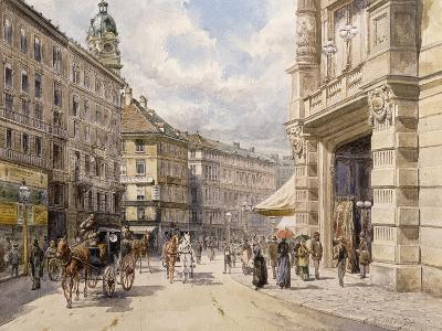 The Graben, Vienna-Ferdinand Weckbrodt-Giclee Print