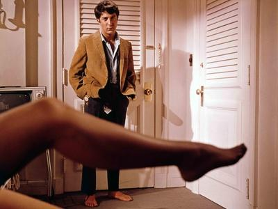 The Graduate, Dustin Hoffman, Directed by Mike Nichols, 1968--Photo