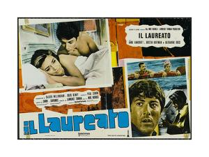 The Graduate, Italian Movie Poster, 1967
