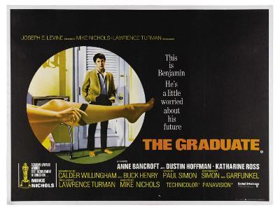 The Graduate, UK Movie Poster, 1967--Art Print