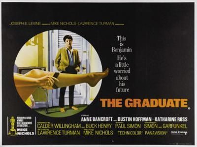 The Graduate, UK Movie Poster, 1967