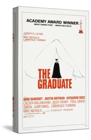 THE GRADUATE, US poster, Dustin Hoffman, 1967