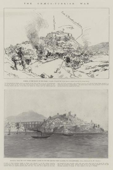 The Graeco-Turkish War--Giclee Print