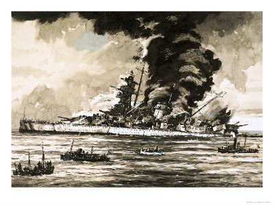 The Graf Spee-John S^ Smith-Giclee Print