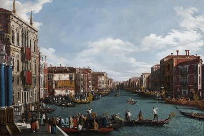 The Grand Canal at Venice-Canaletto-Giclee Print