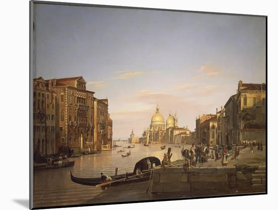 The Grand Canal in Venice, 1838-Francis Cotes-Mounted Giclee Print
