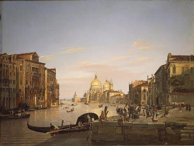 The Grand Canal in Venice, 1838-Francis Cotes-Giclee Print
