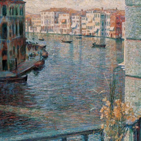The Grand Canal in Venice-Boccioni Umberto-Giclee Print
