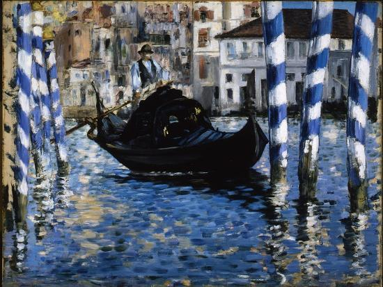 The Grand Canal, Venice, 1875-Edouard Manet-Giclee Print