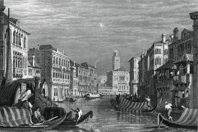 The Grand Canal, Venice, C19th Century-Sam Fisher-Giclee Print