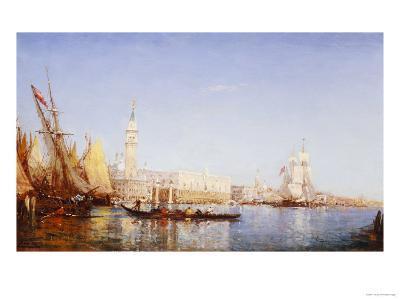 The Grand Canal, Venice-Felix Ziem-Giclee Print
