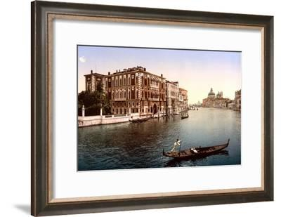 The Grand Canal, View I, Venice, Italy--Framed Art Print