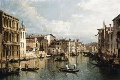 The Grand Canal-Bernardo Bellotto-Giclee Print