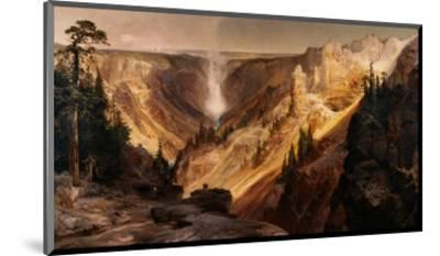 The Grand Canyon of the Yellowstone-Thomas Moran-Mounted Premium Giclee Print