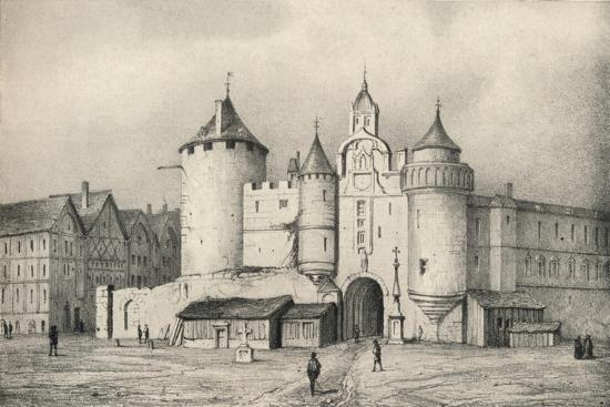 'The Grand Chatelet', 1915-Unknown-Giclee Print