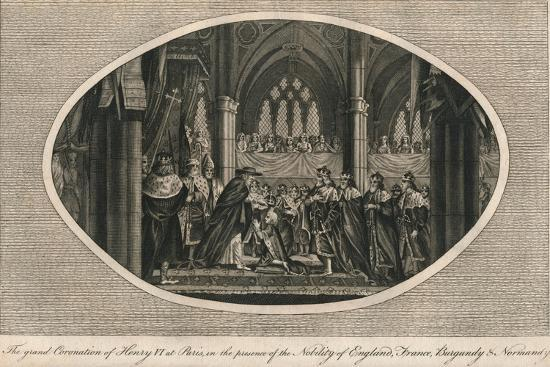 The grand coronation of Henry VI of England in Paris, 1431 (1793)-Unknown-Giclee Print