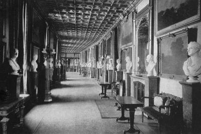 The Grand Corridor, Windsor Castle, Berkshire, 1924-1926-HN King-Giclee Print