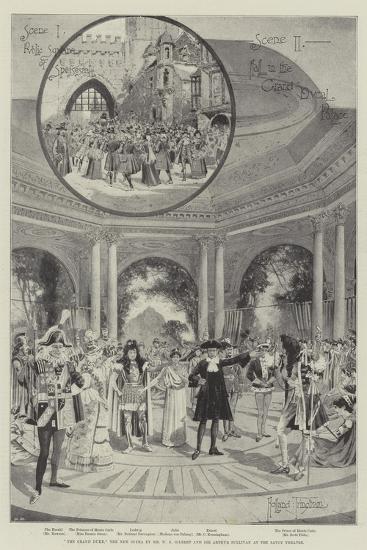 The Grand Duke, the New Opera by Mr W S Gilbert and Sir Arthur Sullivan at the Savoy Theatre-Joseph Holland Tringham-Giclee Print